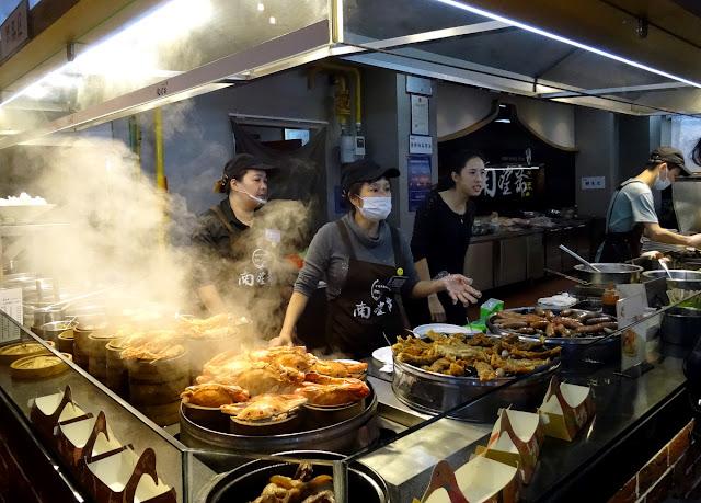 Xiamen food stall