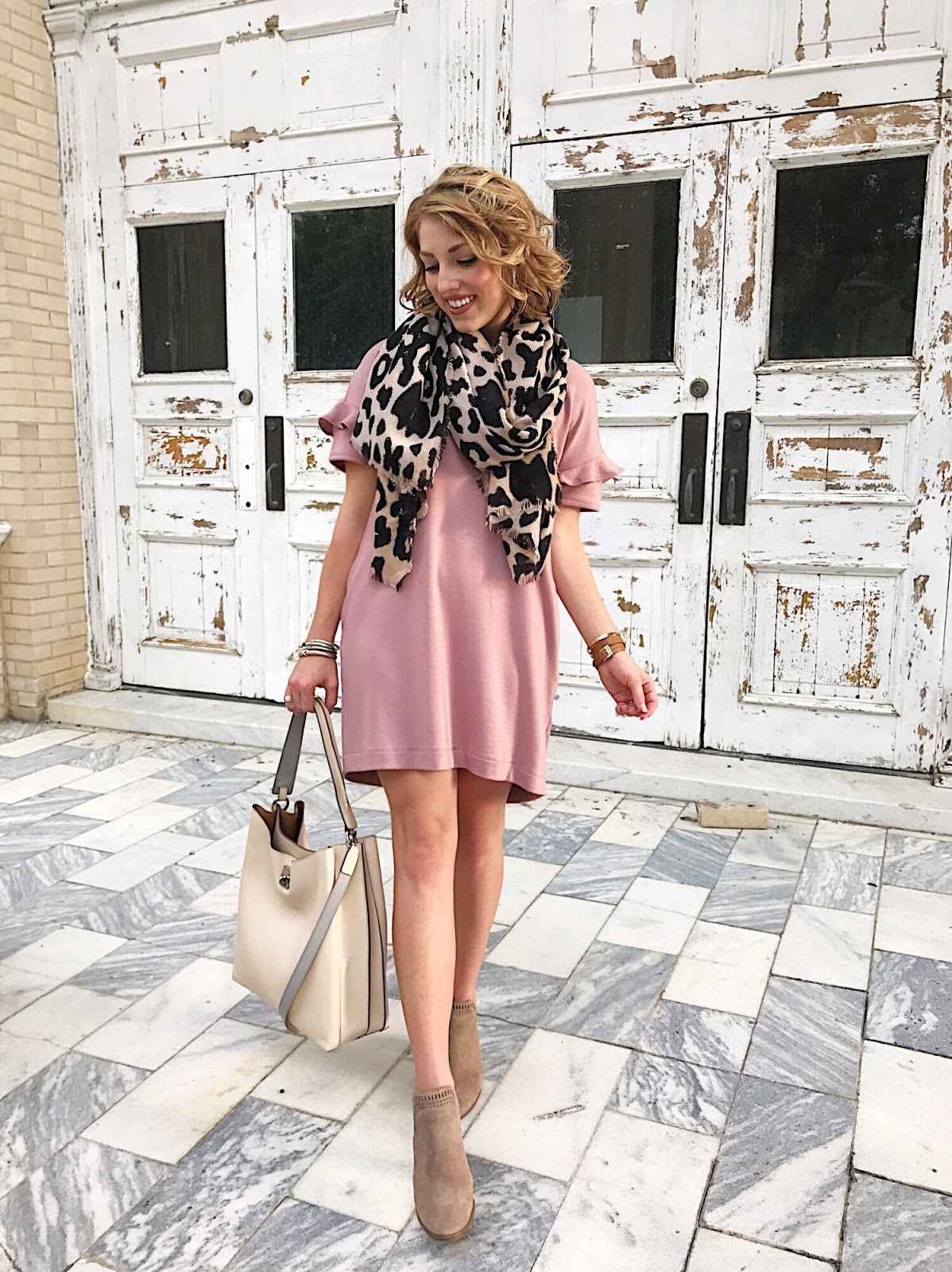 Pink & Leopard - Click through to see more on Something Delightful Blog.