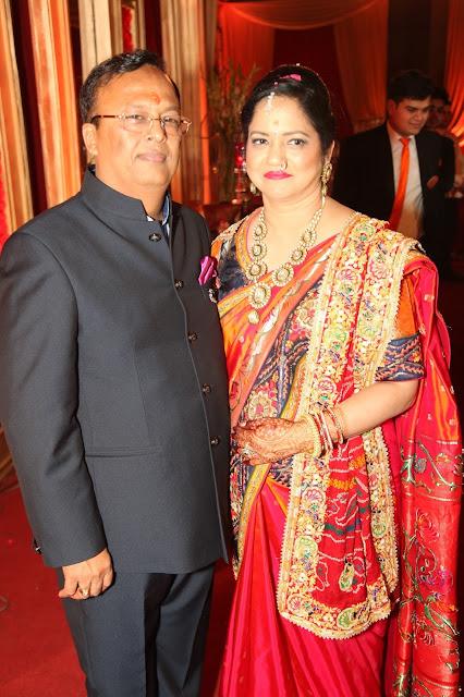 Bride's Parents Alka & Ravinder Gupta-