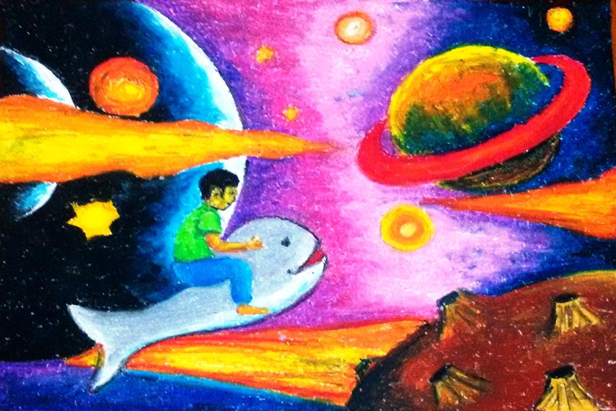 Lukisan Di Angkasa Lepas Cikimm Com
