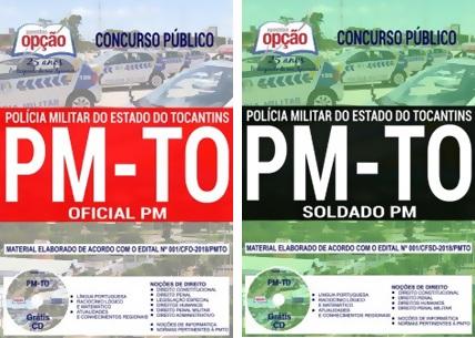 Apostila Concurso PM-TO 2018 Soldado PM e Oficial