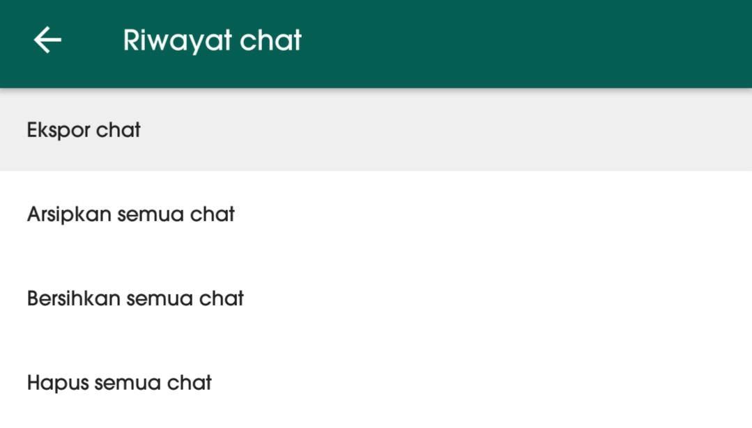 Cara mengetahui orang yang sering chat dengan pacar kamu di WhatsApp 4