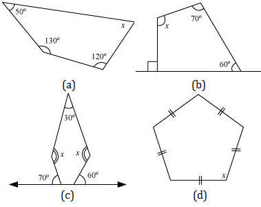 NCERT solutions of Understanding Quadrilaterals Exercise 3.1 - Class 8 CBSE Math