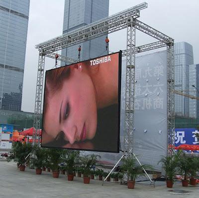 Lắp đặt thi công màn hình led p3 outdoor tại Hà Nam