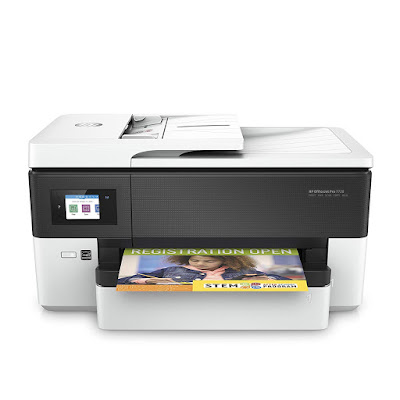 All inwards One Wide Format Printer alongside Wireless Printing HP OfficeJet Pro 7720 Driver Downloads