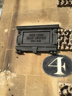 4 Sydney Place, Bath - Jane Austen's former home