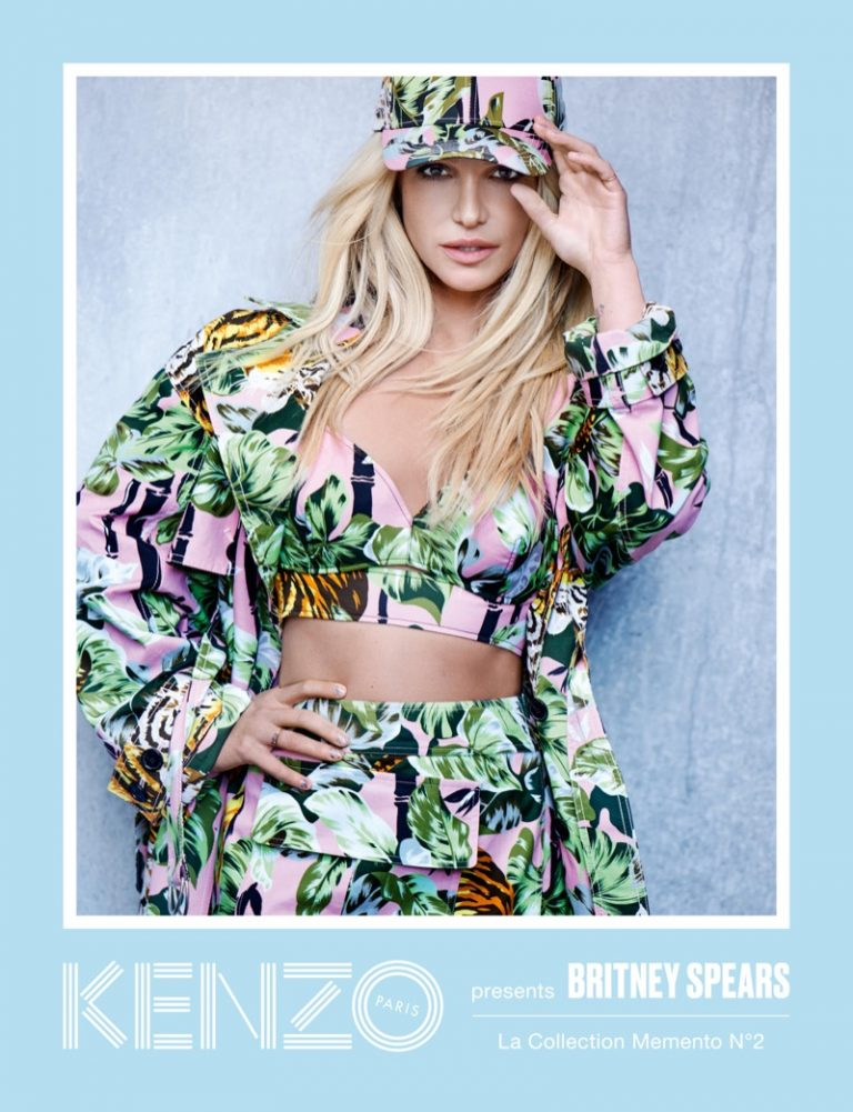 Britney Spears for Kenzo La Collection Memento No. 2