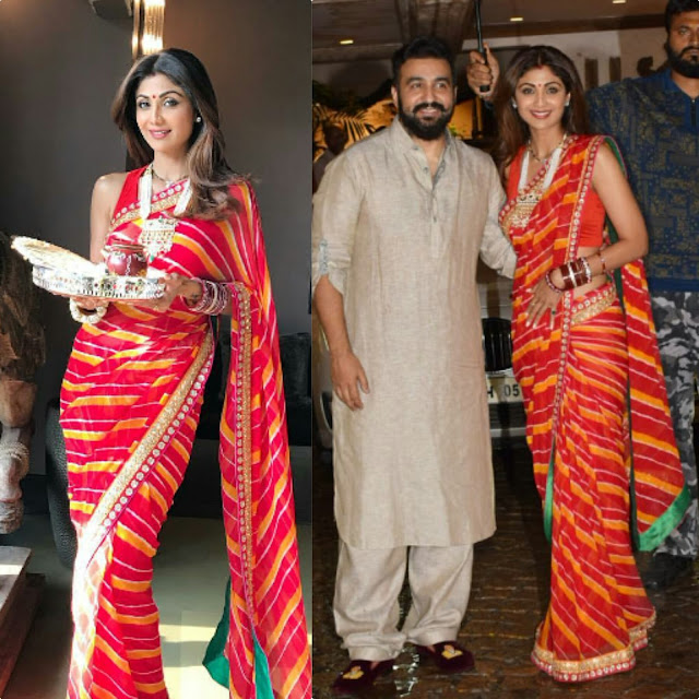 Shilpa Shetty's Karwa Chawth Celebrations