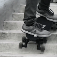 Longboard Stair Rover avec 8 roues