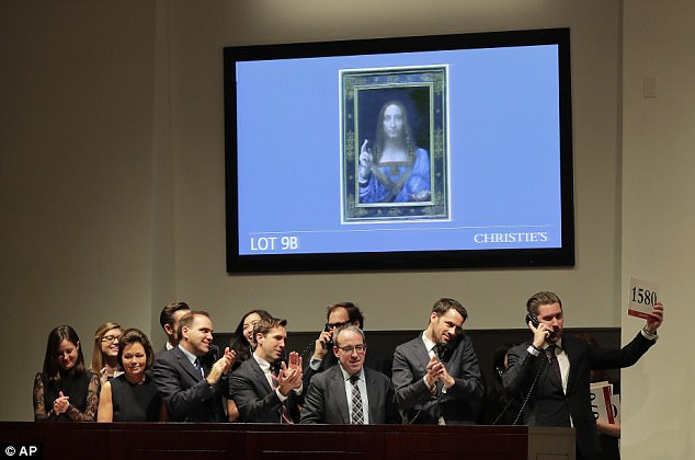 Da Vinci's 'Salvator Mundi' Is World's Most Expensive Painting Sold At An Auction