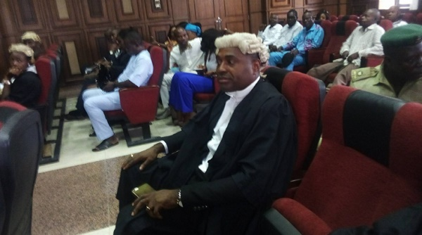 Latest Bifra News: Popular Nollywood Actor & Lawyer Kenneth Okonkwo Storm Court In Solidarity With Nnamdi Kanu (Photo) ECOWAS News