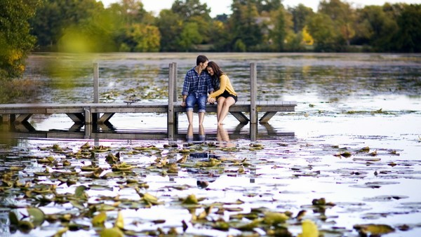 Steam River Tender Romantic Love Nature Pictures