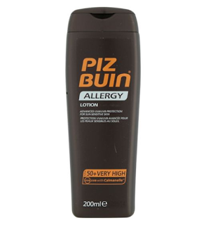 piz buin sun allergy