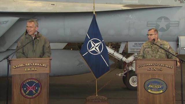 """EEUU: OTAN está lista para responder a la """"creciente amenaza rusa"""""""