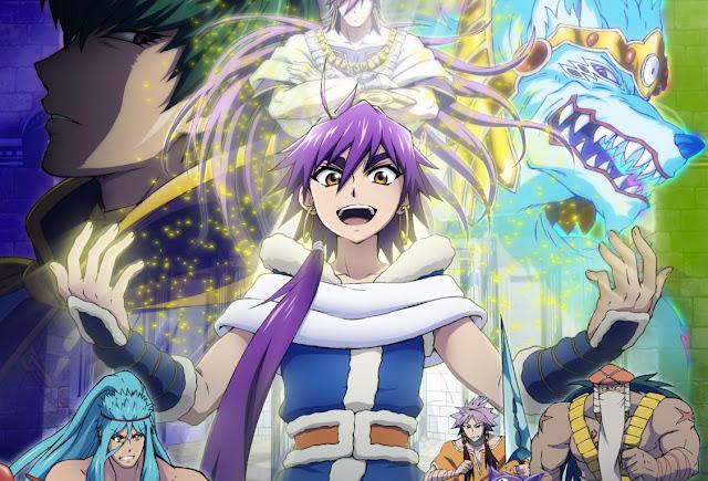 Magi: Sinbad no Bouken (12/12) + OVAS (115MB) (HDL) (Sub Español) (Mega)