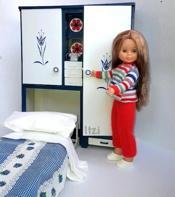 Pijama Macla para Nancy y armario Palau para Nancy