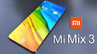 Xiaomi Mi Mix 3 Get Dual 24 – Megapixel Selfie Cameras, Xiaomi Mi Mix 3 leaked Price List And variant.