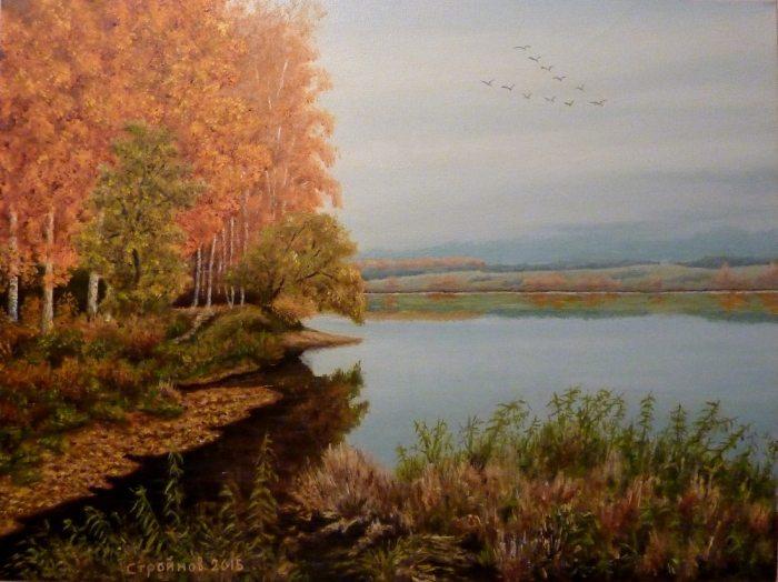 Поэт в живописи. Виталий Стройнов