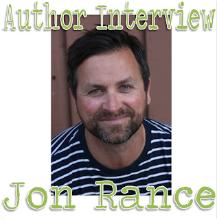 Author interview, Jon Rance, interview, lad lit