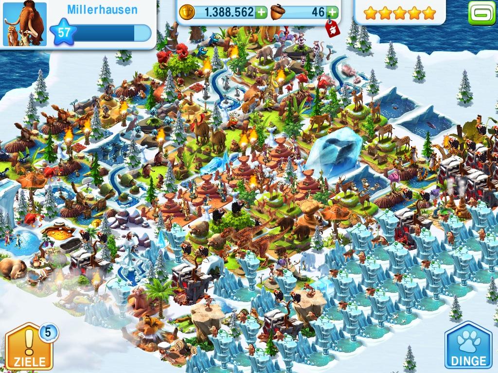 Ice Age Village V3.5.9A Mega Hileli Mod