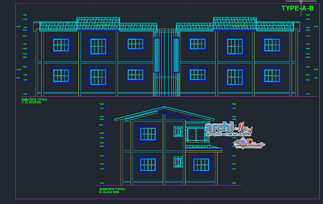 Valley Village Type D in AutoCAD