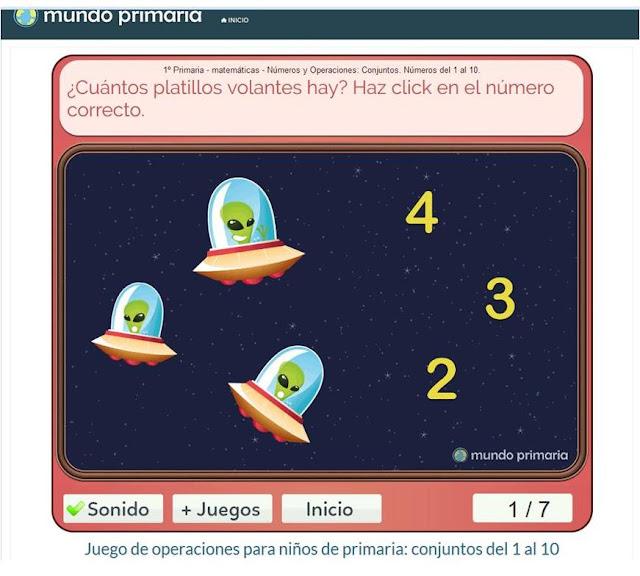 http://www.mundoprimaria.com/juegos-matematicas/juego-conjuntos-1-a-10/