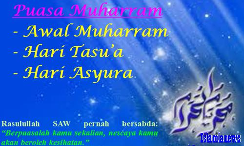 Keutamaan Amalan Doa 1 Muharram Hikmah Niat Puasa 9, 10 Asyura