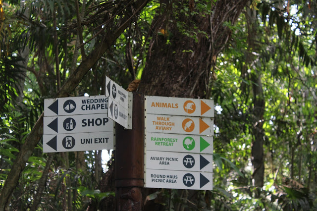 Port MOresby Nature Park DIrection