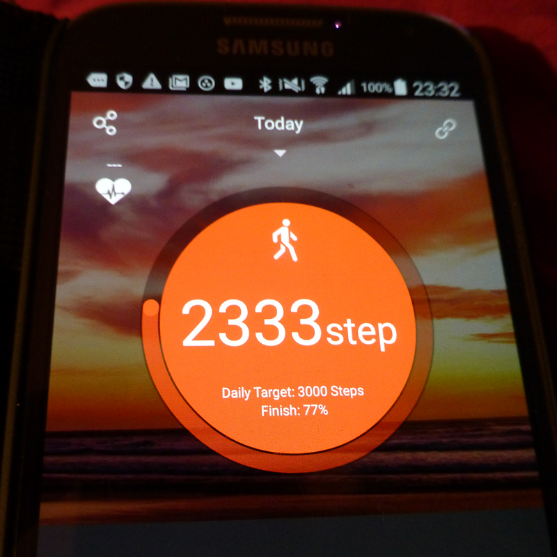 how to set up veryfit for heart rate