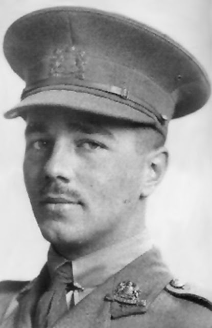 Wilfred Owen, soldier and poet.