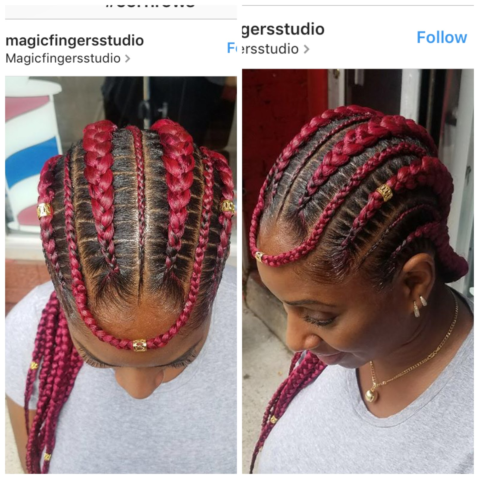 6footlonghair Cornrow Styles For Women Summer Protective