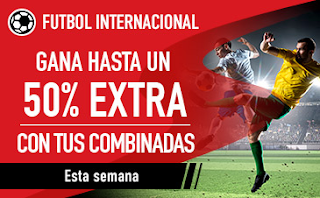 sportium extra en Combinadas futbol 24-30 septiembre