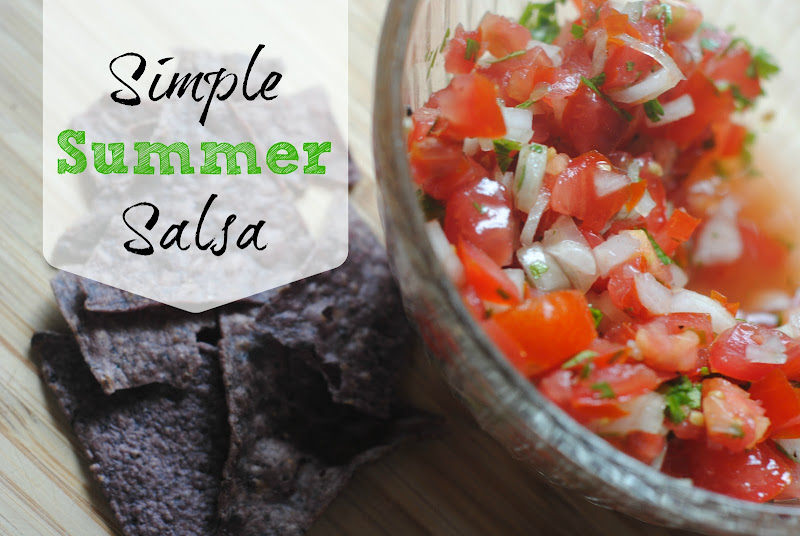 Simple Summer Salsa Recipe