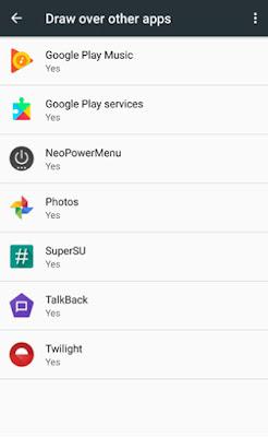 screen overlay detected - aplikasi lainnya