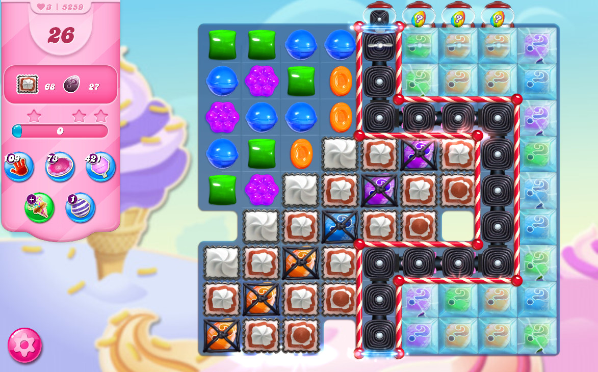 Candy Crush Saga level 5259