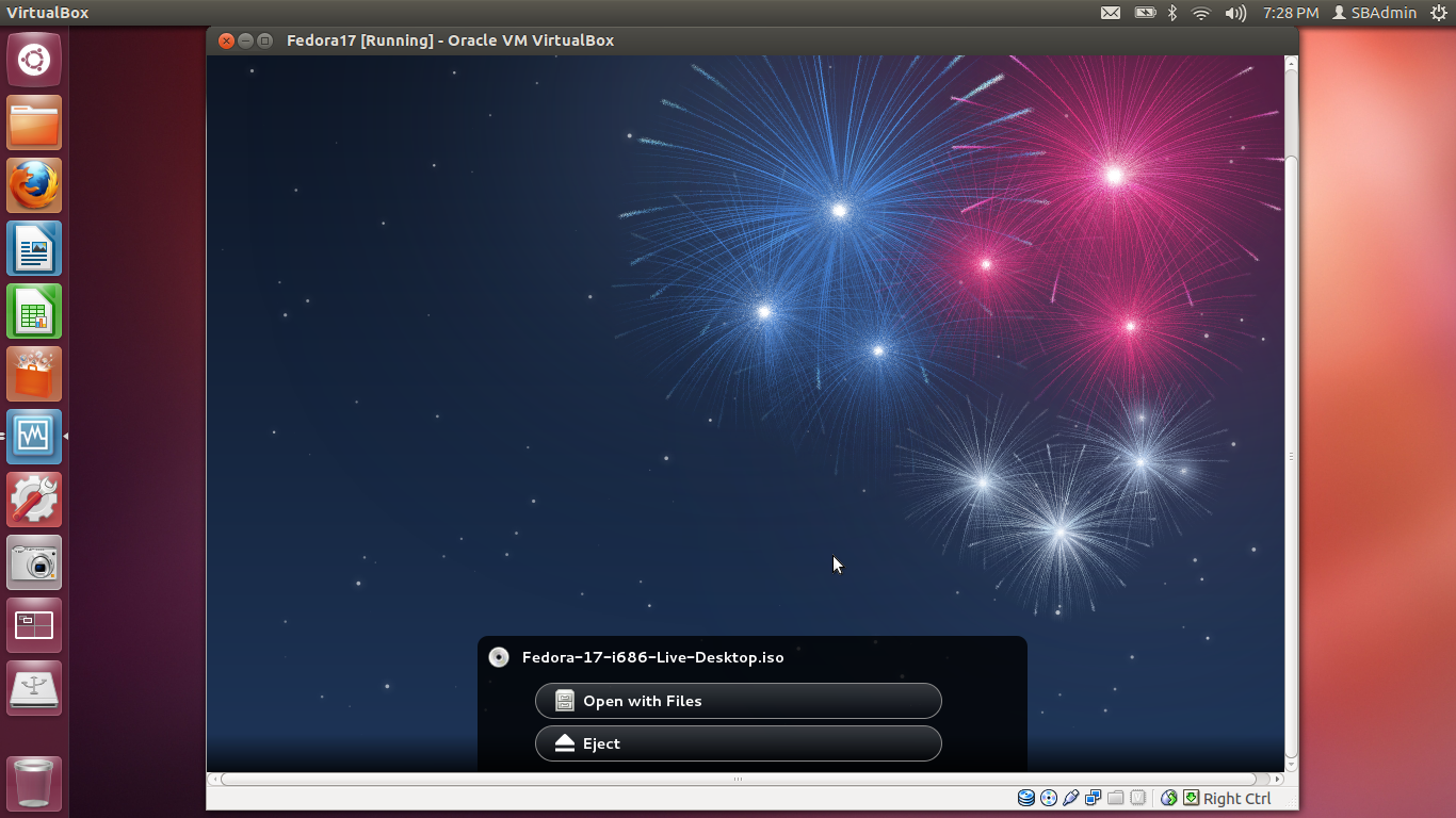 The Small Box Admin: Running Fedora 17 in Ubuntu with VirtualBox