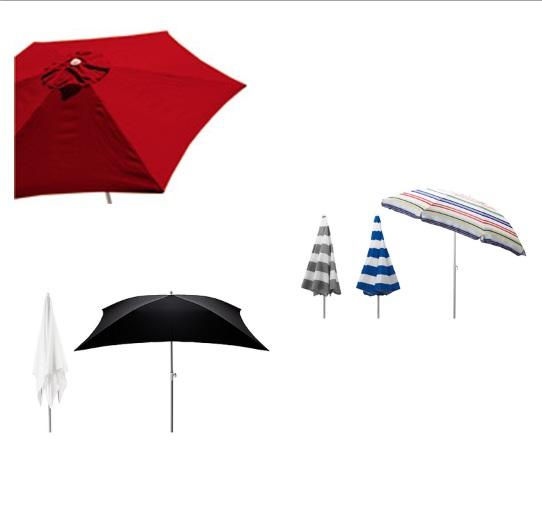 Parasol Leroy Merlin Abri Jardin Bois France