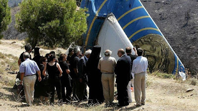 On the August 14 / August 2005 a Boeing subsidiary of Ilios private Greek airline crashed