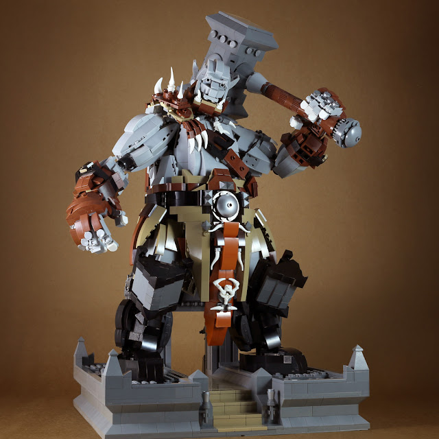 Tiles or Studs: Orgrim Doomhammer from WoW