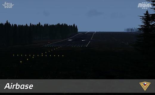 Arma3用チェコスロバキア軍MODマップ Homelandの国境線