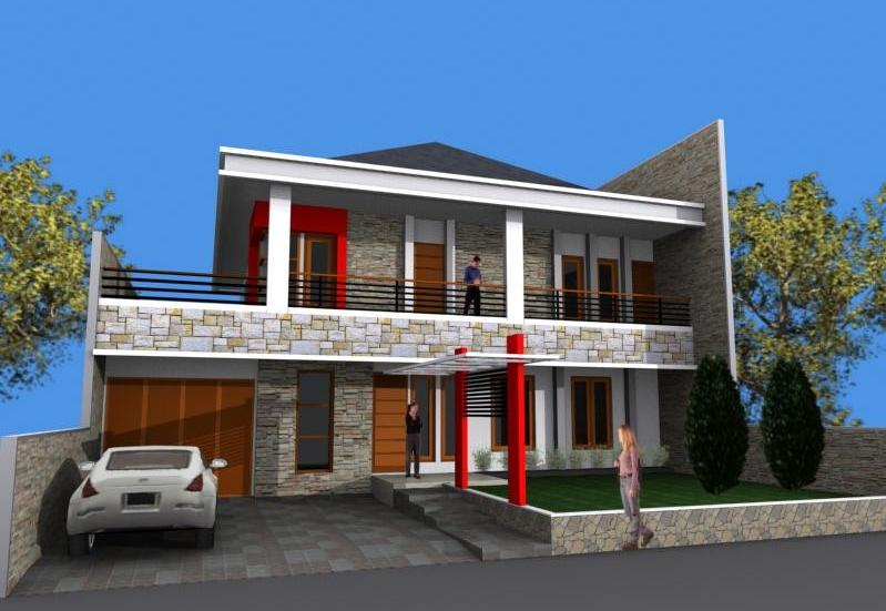 Gambar Desain Rumah Garasi Bawah Tanah  Feed News Indonesia