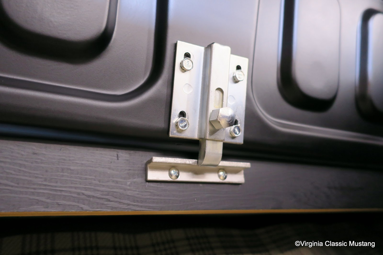 High Quality 1966 Shelby Mustang GT350 Restoration. SFM6S033. Rear Trap Door Latch And  Striker. Www.VirginiaClassicMustang.com