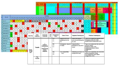 File Pendidikan Download Jadwal Pelajaran, Kalender Pendidikan dan Jurnal Harian k13 Kelas 1 & 4 Semester Ganjil 2017-2018