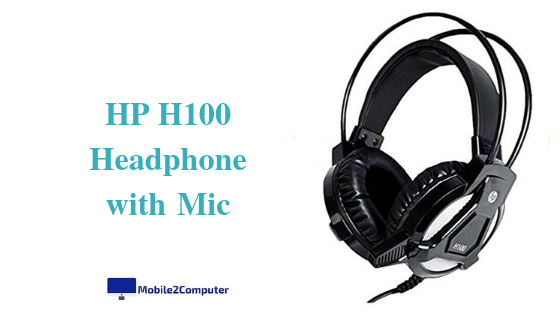HP H100 Headset under Rs.1000 with mic