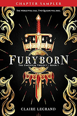 Furyborn, young adult, Claire Legrand, epic fantasy, trilogy