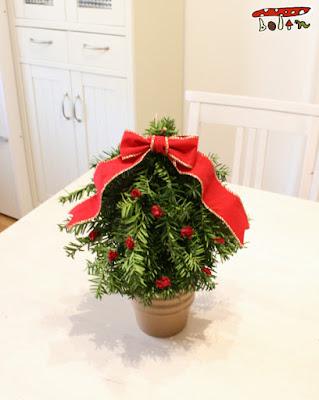 クリスマスツリー作り方