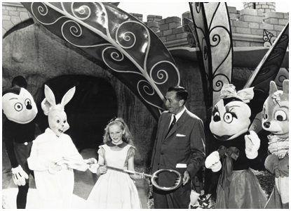 1958 Disneyland Magic Kingdom Alice in Wonderland attraction