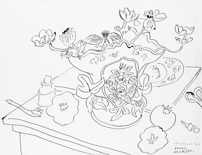 Matisse Contour Line Drawing : Culturevore specialising in design arts and culture