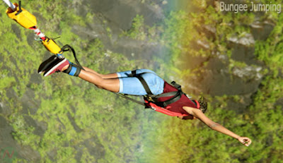 Bungee jumping sport