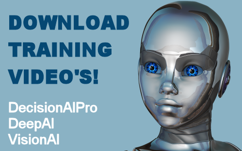 AI-TOOLKIT Training Video's, Decision AI Professional, DeepAI, VisionAI